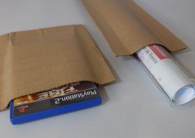 pochette carton rigide