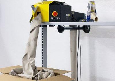 Intégration Speedman Flex sur poste d'emballage