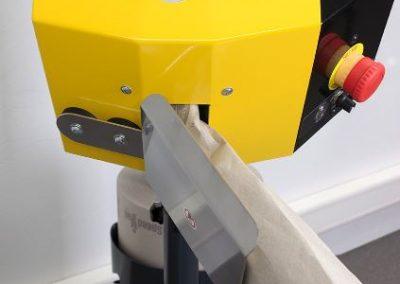 Exemble d'installation Speedman Flex sur table d'emballage