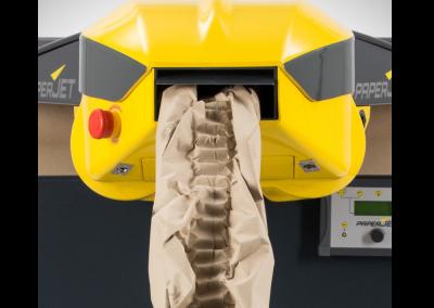 Système de calage papier froissé paperjet - Packlight