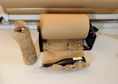 PAPIERWRAP-Idéal pour protéger les produits cylindriques