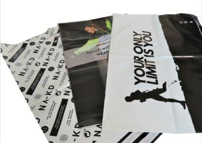 Impression personnalisée sur pochette plastique recyclé - Packlight