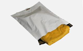 Pochette plastique recyclé
