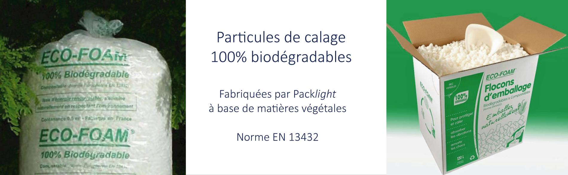 particules calage bio - Packlight